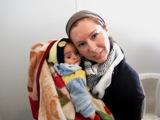 Un cuore di madre si batte sempre in difesa di tutti i bambini (Elisa Fangareggi al Campo di Bab Al Salam, Siria - linea di confine)