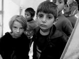Volti di bambini (Campo di Bab Al Salam, Siria - linea di confine)